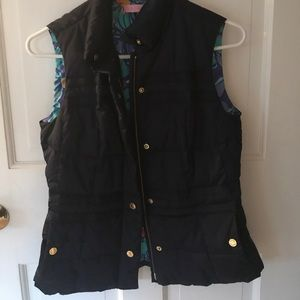 Lilly Pulitzer down vest